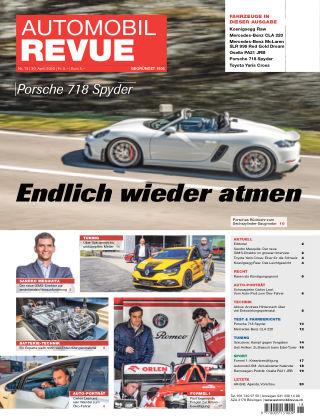 AUTOMOBIL REVUE Nr 18/2020