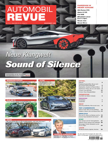 Automobil Revue May 07, 2020 00:00