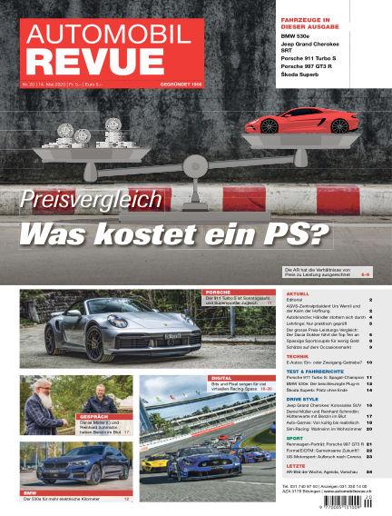 Automobil Revue May 14, 2020 00:00