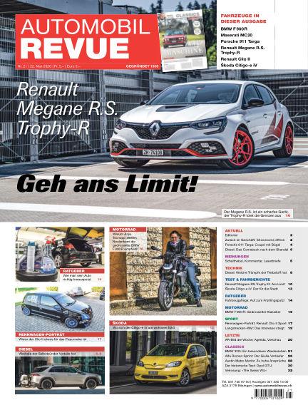 Automobil Revue May 22, 2020 00:00