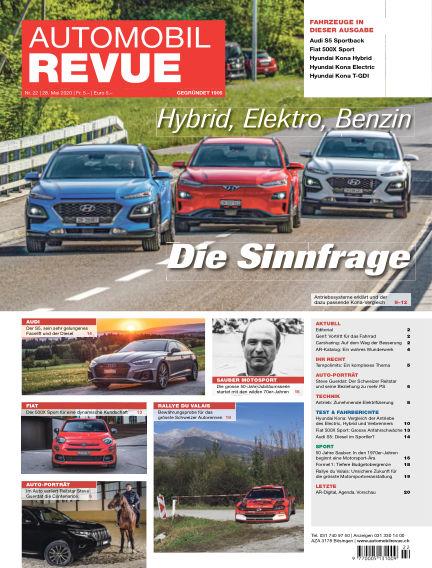 Automobil Revue May 28, 2020 00:00