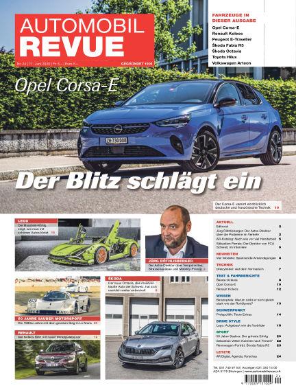 Automobil Revue June 11, 2020 00:00