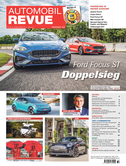 Automobil Revue August 06, 2020 00:00