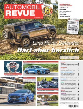 AUTOMOBIL REVUE Nr 34/2020