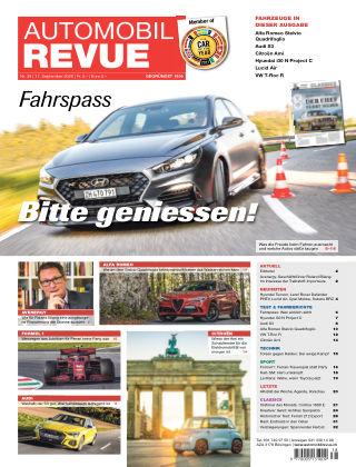 AUTOMOBIL REVUE Nr. 38/2020