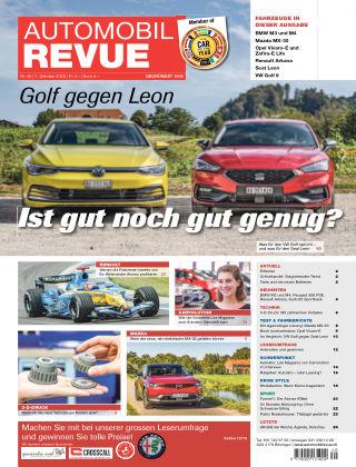 Automobil Revue Nr. 40/2020
