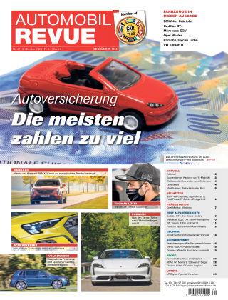 AUTOMOBIL REVUE Nr. 41/2020