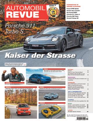 AUTOMOBIL REVUE Nr. 47/2020
