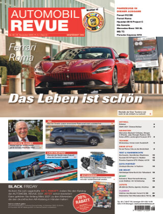 AUTOMOBIL REVUE Nr. 48/2020