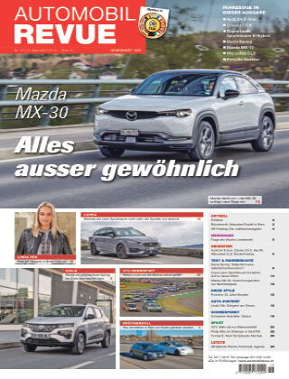 AUTOMOBIL REVUE Nr. 15/2021