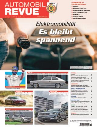 AUTOMOBIL REVUE Nr. 19/2021