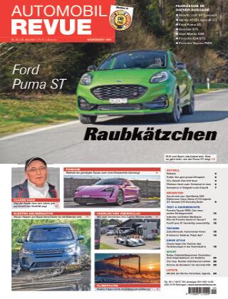 AUTOMOBIL REVUE Nr. 20/2021