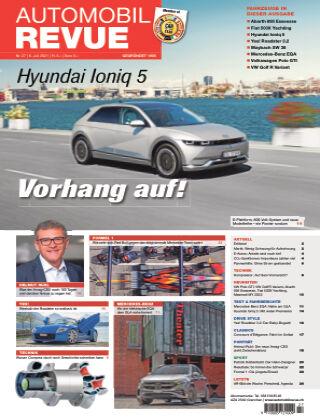 AUTOMOBIL REVUE Nr. 27/2021
