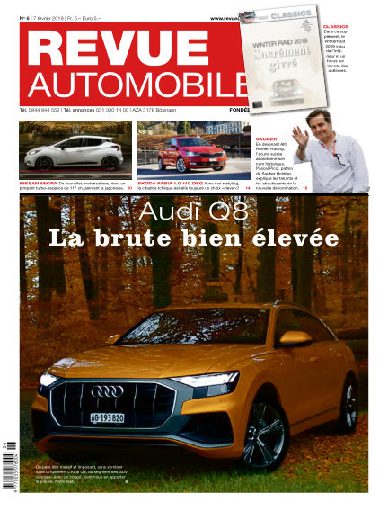 Revue Automobile February 07, 2019 00:00