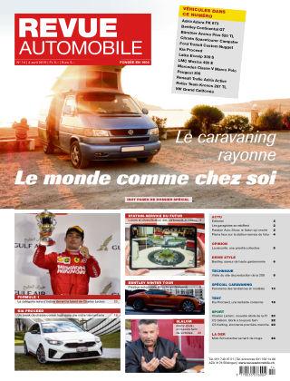 Revue Automobile No 14/2019