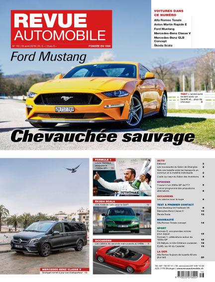Revue Automobile April 18, 2019 00:00