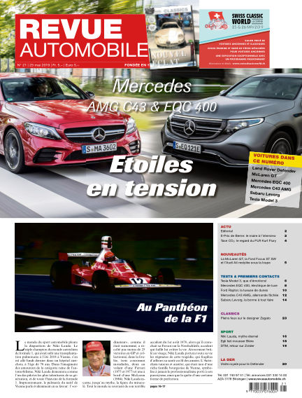 Revue Automobile May 23, 2019 00:00