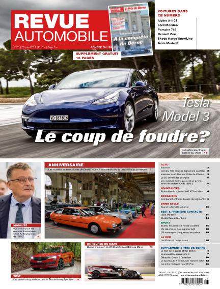 Revue Automobile June 20, 2019 00:00