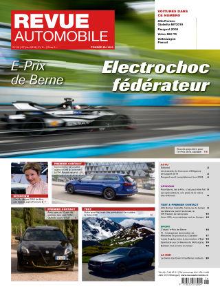 Revue Automobile No 26/2019