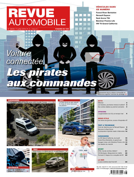 Revue Automobile July 11, 2019 00:00