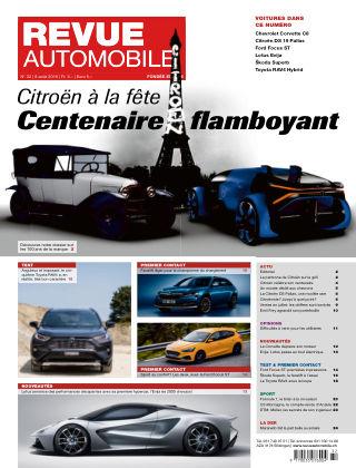 Revue Automobile No 32/2019