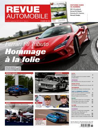 Revue Automobile No 36/2019