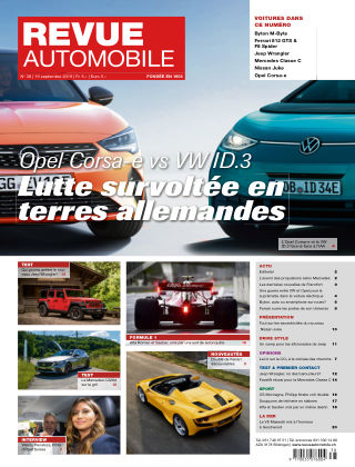 REVUE AUTOMOBILE No 38/2019