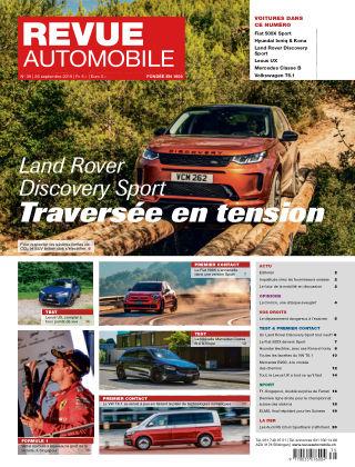 REVUE AUTOMOBILE No 39/2019