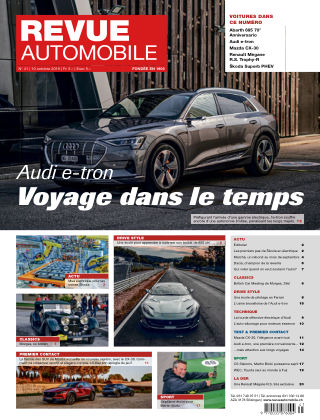 Revue Automobile No 41/2019