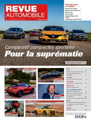 Revue Automobile No 42/2019