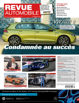 Revue Automobile No 44/2019