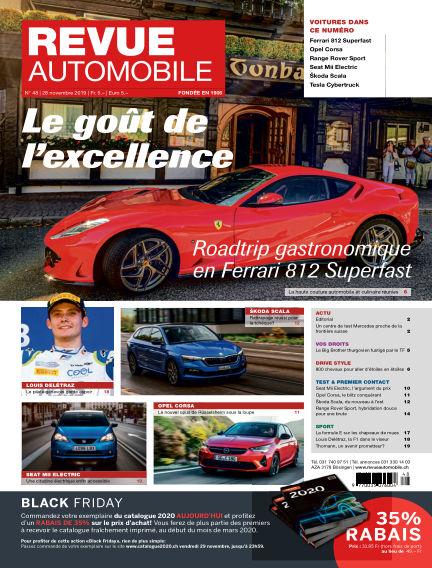 Revue Automobile November 28, 2019 00:00