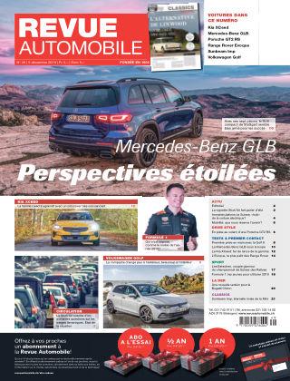 Revue Automobile No 49/2019
