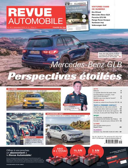Revue Automobile December 05, 2019 00:00