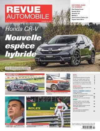 Revue Automobile No 01/02/2020