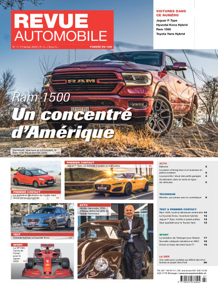 REVUE AUTOMOBILE February 13, 2020 00:00