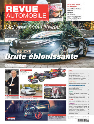Revue Automobile No 08/2020