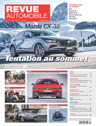 Revue Automobile No 09/2020