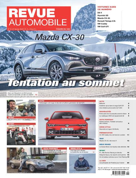 Revue Automobile February 27, 2020 00:00