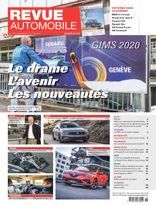 REVUE AUTOMOBILE No 10/2020