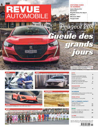 Revue Automobile No 11/2020