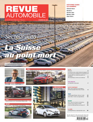 Revue Automobile No 13/2020