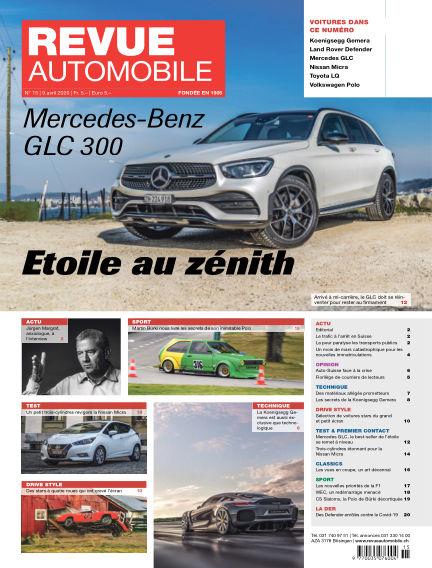 Revue Automobile April 09, 2020 00:00