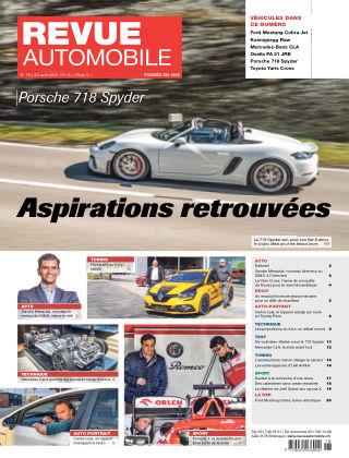 REVUE AUTOMOBILE No 18/2020