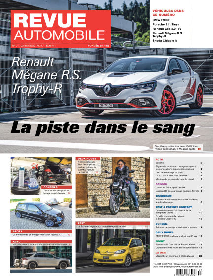 Revue Automobile May 22, 2020 00:00