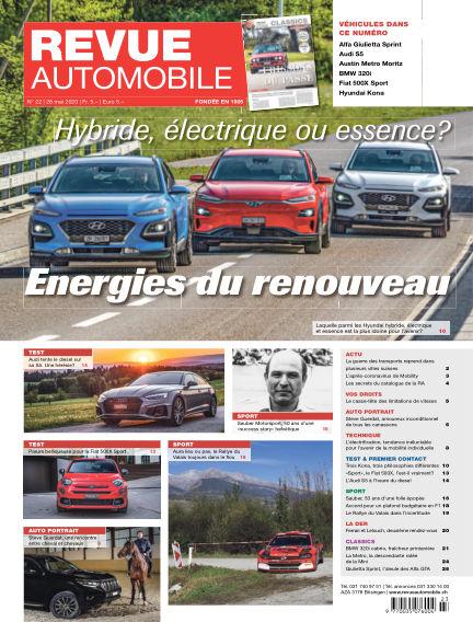Revue Automobile May 28, 2020 00:00