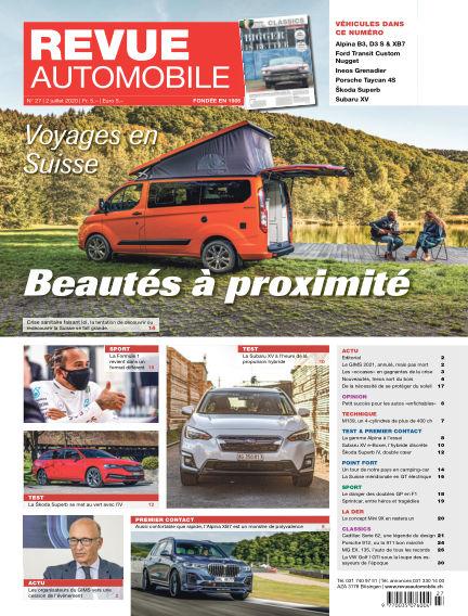 Revue Automobile July 02, 2020 00:00