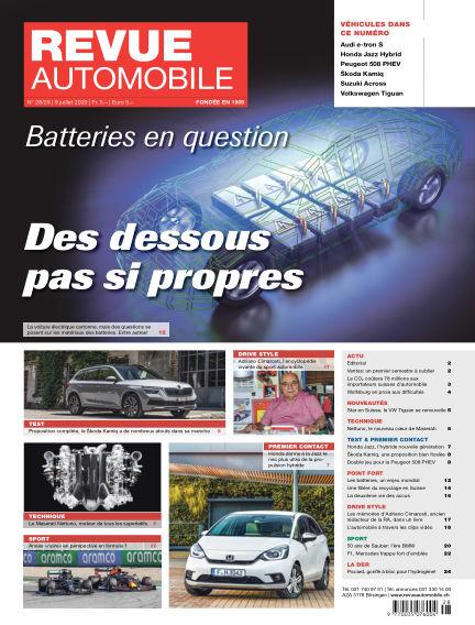 Revue Automobile July 09, 2020 00:00
