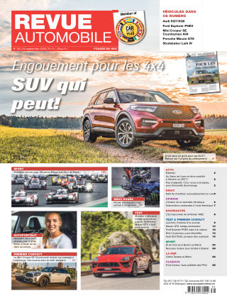 REVUE AUTOMOBILE No 39/2020
