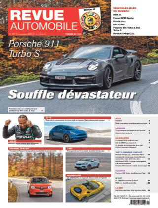 REVUE AUTOMOBILE No 47/2020